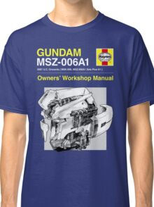 Gundam Zeta Plus - Owners' Manual Classic T-Shirt