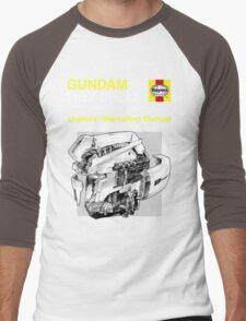 Gundam Zeta Plus - Owners' Manual Men's Baseball ¾ T-Shirt