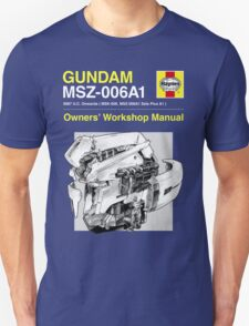 Gundam Zeta Plus - Owners' Manual Unisex T-Shirt