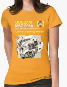 Gundam Zeta Plus - Owners' Manual Womens Fitted T-Shirt