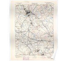 Massachusetts  USGS Historical Topo Map MA Lawrence 352792 1893 62500 Poster