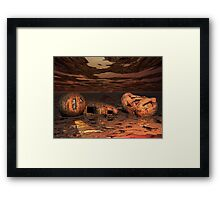 Where are you..........exactly? Framed Print