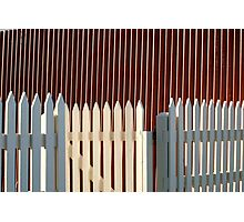 Fences Photographic Print