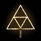 Triforce Sabre! (Gold) by Brandon Wilhelm
