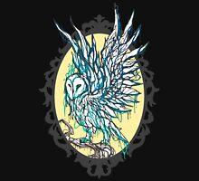 Dripping Owl - Circle Unisex T-Shirt