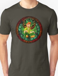 Peter Pan Stained Glass T-Shirt