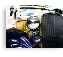 a very old chevy Canvas Print