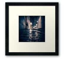Lisbon by night Framed Print