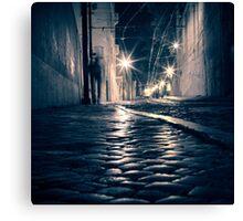 Lisbon by night Canvas Print
