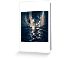 Lisbon by night Greeting Card