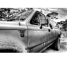 Hilux Tough Photographic Print