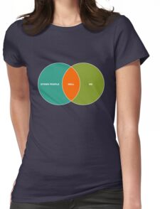 Hell is Other People - Venn Diagram T-Shirt