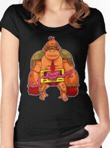 DONKEY KRANG V. 1.0 Women's Fitted Scoop T-Shirt