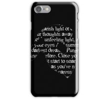 Music of the Night Mask iPhone Case/Skin