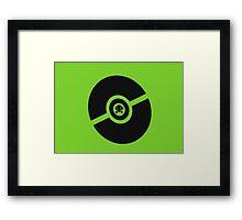 Pokemon Pokeball Bug  Framed Print