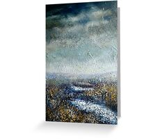 Moorland Stream, North Yorkshire Greeting Card