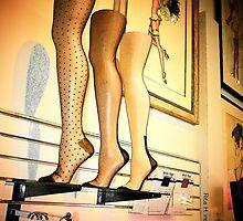 Silk Stockings... by Rita  H. Ireland