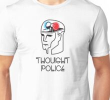 Thought Police - Black Lines Unisex T-Shirt
