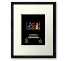 Five Nights at Freddy's Atari Art Framed Print