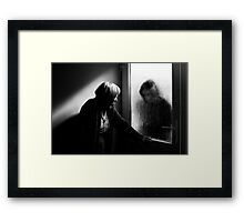 Enemy at the door Framed Print