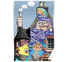 Kelburn Castle Graffiti Project - Fairlie Scotland Poster