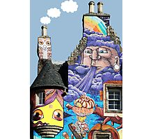 Kelburn Castle Graffiti Project - Fairlie Scotland Photographic Print