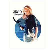 I'm Buffy...the Vampire Slayer Art Print