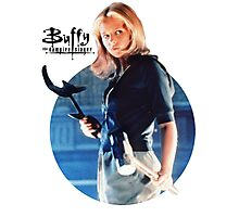 I'm Buffy...the Vampire Slayer Photographic Print