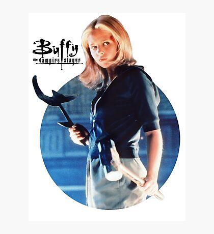 I'm Buffy...the Vampire Slayer Photographic Print