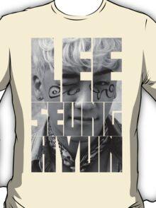 BIGBANG Seungri 'Lee Seung Hyun' Typography T-Shirt