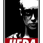 OBEY THE HEDA by geekmonkey
