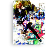 JUST A WORK A DAY LIFE Canvas Print