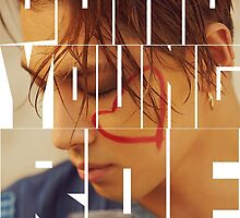 BIGBANG Taeyang 'Dong Young Bae' Typography by ikpopstore