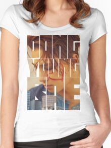 BIGBANG Taeyang 'Dong Young Bae' Typography Women's Fitted Scoop T-Shirt