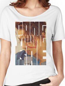BIGBANG Taeyang 'Dong Young Bae' Typography Women's Relaxed Fit T-Shirt