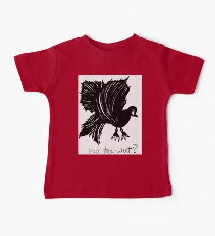 That jabbering bird... Baby Tee