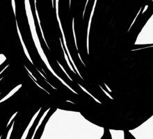 That jabbering bird... Sticker