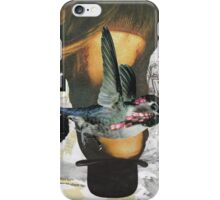 Woman in a Bowler Hat iPhone Case/Skin