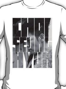BIGBANG T.O.P 'Choi Seung Hyun' Typography T-Shirt