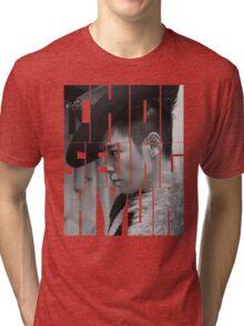 BIGBANG T.O.P 'Choi Seung Hyun' Typography Tri-blend T-Shirt