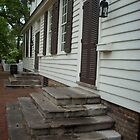 Colonial Williamsburg steps by AJ Belongia