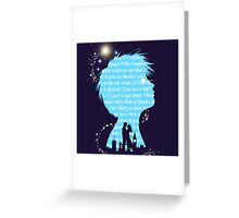 Finding Neverland Believe Greeting Card