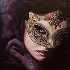 """Hidden Sight"" - Painting by Dorina Costras - Calendar 2013 by dorina costras"