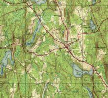 Massachusetts  USGS Historical Topo Map MA Paxton 352048 1941 31680 Sticker