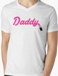Daddy Lipstick  Mens V-Neck T-Shirt