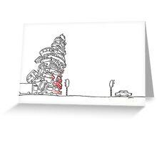 Fresh frustation - Bult ongeduld Greeting Card