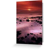 Yallingup Sunset  - Western Australia Greeting Card