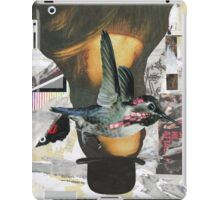 Woman in a Bowler Hat iPad Case/Skin