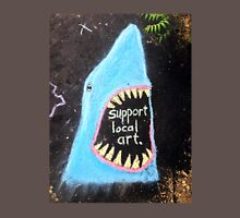 Found Art: Sidewalk Shark Unisex T-Shirt
