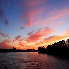 Dusk Over The Neva - St Petersburg, Russia by J J  Everson